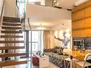 品尊国际服务式公寓 铜川路店 北欧风loft1室1厅